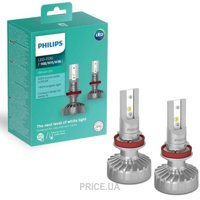 Philips Ultinon +160% H8/H11/H16 11366ULWX2