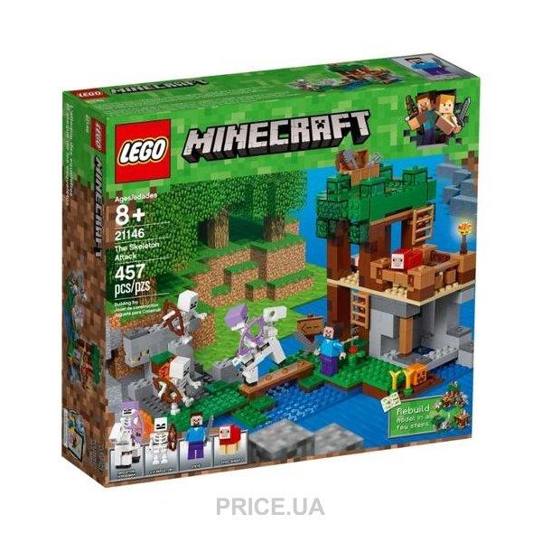 22e862095cc8 LEGO Minecraft 21146 Нападение армии скелетов  Купить в Украине ...