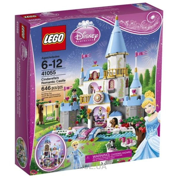db44d19c98cd LEGO Disney Princess 41055 Романтический замок Золушки  Купить в ...