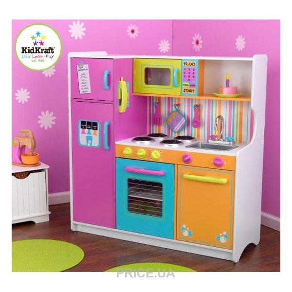 9ee950753db3 Kidkraft Детская кухня Делюкс (53100): Купить в Киеве - Сравнить ...