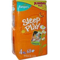 d7aad62d7b9a Pampers Sleep Play Maxi 4 (50 шт.)  Купить в Украине - Сравнить цены ...