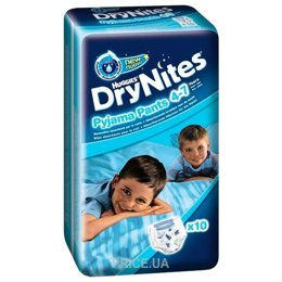 2156b64148aa Huggies DryNites для мальчиков 4-7 лет 17-30 кг (10 шт.)  Купить в ...