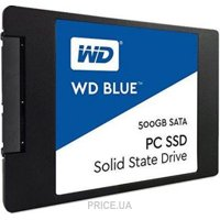 Фото Western Digital SSD Blue 500GB (WDS500G2B0A)