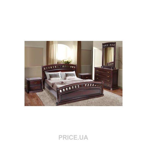 МИКС-Мебель Флоренция 160x200 Дуб  Купить в Украине - Сравнить цены ... 894041ca6bf14