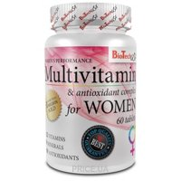 Фото BioTech Multivitamin for Women, 60 tabs