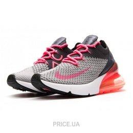 6f214d0c Nike Женские кроссовки Nike Air Max 270 Flyknit серые E13742: Купить ...