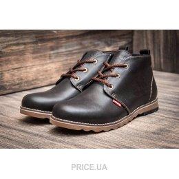 Levi s Мужские ботинки Levi s Chukka Boot зимние темно-коричневые E3814-2.  0.0. цены в Украине 21b40946e6e14
