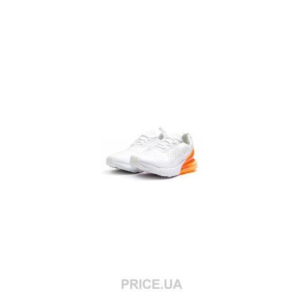 35c8bc41 Nike Мужские кроссовки Nike Air Max 270 белые с оранжевым E14538. 0.0. цены  в Украине