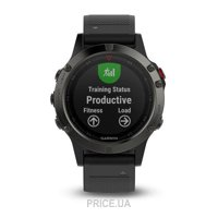 Фото Garmin Fenix 5 Performer Bundle Slate Grey With Black Band (010-01688-30)