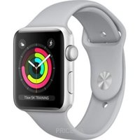 Фото Apple Watch Series 3 (GPS) 42mm Silver Aluminum w. Fog Sport B. - Silver