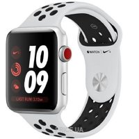 Фото Apple Watch Series 3 Nike+ (GPS) 42mm Silver Aluminum w. Pure Platinum/BlackSport B. (MQLC2)