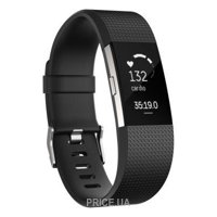 Фото Fitbit Charge HR 2 Large (Black/Silver)