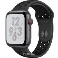 Фото Apple Watch Nike+ Series 4 GPS 40mm Gray Alum. w. Anthracite/Black Nike Sport b. Gray Alum. (MU6J2)