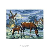 Фото Sequin Art PAINTING BY NUMBERS SENIOR Evening Pasture (SA0429)