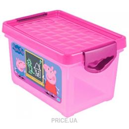 1ef4e2408ba4b ... корзину для игрушек Little Angel Ящик для хранения Я росту Свинка Пеппа